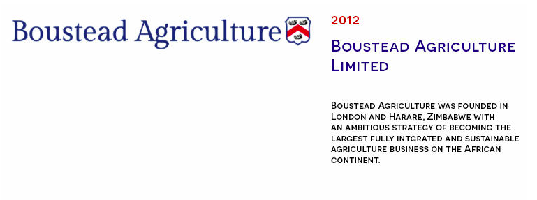 Boustead Agriculture is formed