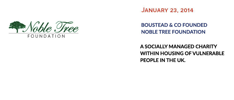 Noble Tree Foundation formed