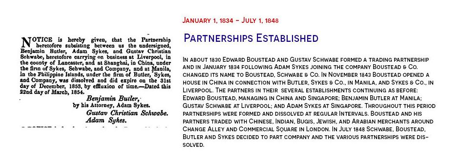 Boustead partnerships established