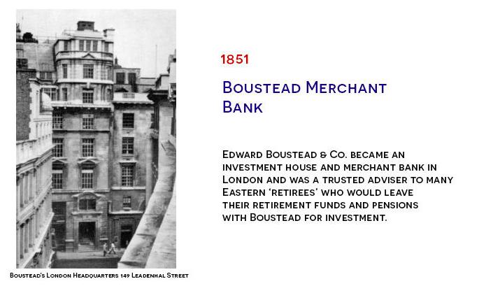 Boustead Merchant Bank