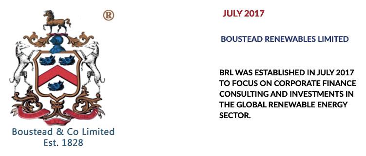 Boustead Renewables formed